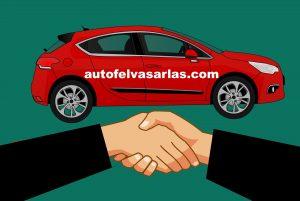 autó eladás kézfogás